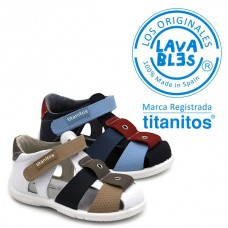 Boys sandals Titanitos L671 Amador