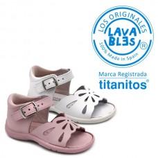 Buckle sandals Titanitos L670 AINHOA
