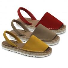 Nobuck minorcan sandals Hermi 99350