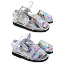Padded minorcan sandals STARS 9361