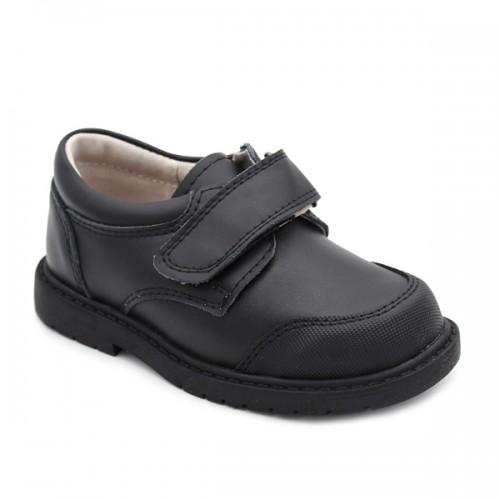 Boys school shoes Bubble Bobble1653 Black