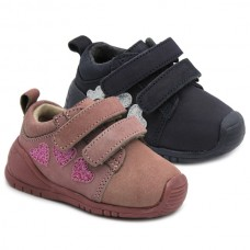 Girls leather booties Bubble Kids 3141
