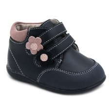 Girls velcro leather booties Bubble Kids 3137