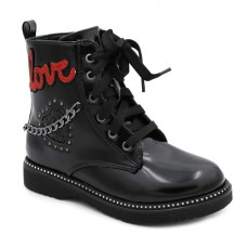 Girls military boots Bubble Kids 2692
