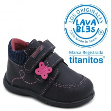 Girls washable booties Titanitos L672 ABRIL