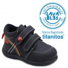 Boys washable booties Titanitos L672 Ernesto