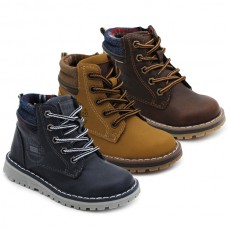 Botas cordones niño Bubble Kids 3084