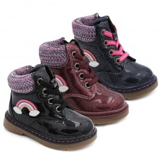 Bota arcoiris niña Bubble Kids 3158