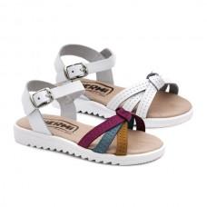 Buckle leather sandals Hermi MC479