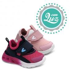 Velcro light sneakers Bubble Kids 3198