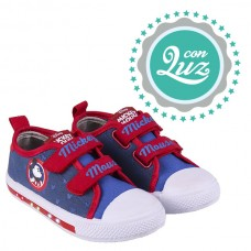 Zapatillas luces Mickey Mouse 4706