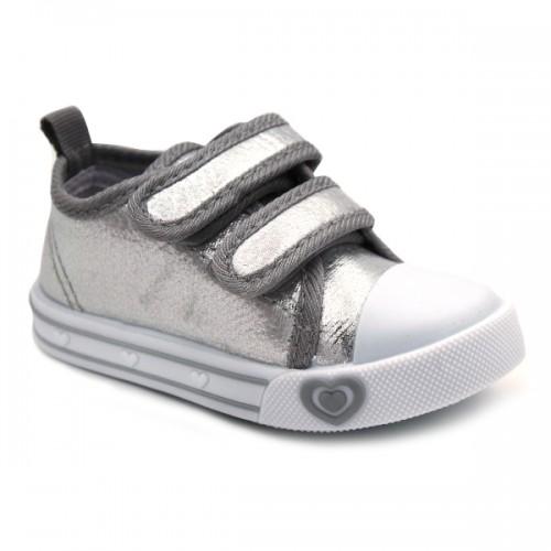 Metallic sneakers Bubble Kids 2784 Silver