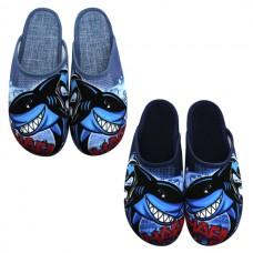 Boys SHARK slippers 6035