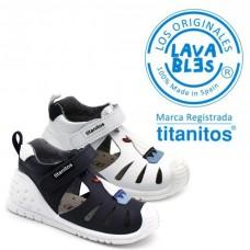 Sandalias lavables Titanitos L680  IGNACIO
