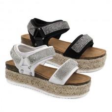Strass bio sandals Bubbke Kids 3229