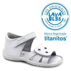 Sandalias piel TITANITOS L670 ALONDRA