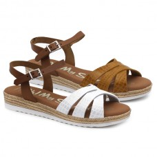 Cross straps sandals Oh! My Sandals 4832