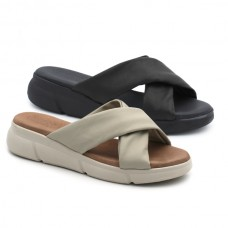 Sandal with crossed straps HERMI 53207