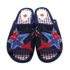 Zapatillas casa mujer punta abierta 6505
