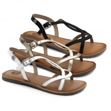 Girl leather sandals Gioseppo Biscoe
