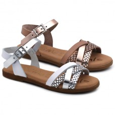 Sandalia combinada Oh! my Sandals 4907