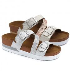 Glitter bio sandals Gioseppo Ieper