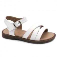 Girls white sandals Bubble kids 3263
