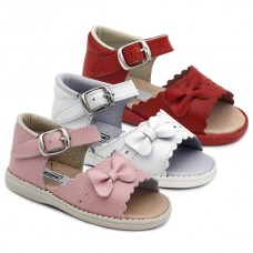 Girls bow sandals HERMI K450