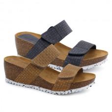 Wedge bio sandals HERMI 35840