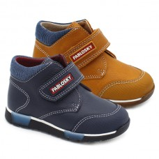 Leather velcro boots Pablosky 004023/80