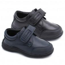 Zapato colegial velcro Bubble Kids 069