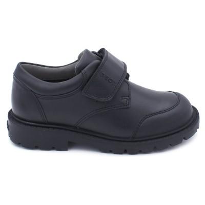Boys school shoes Geox SHAYLAX Navy