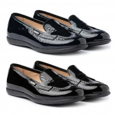 Patent leather moccasin Angelitos 468
