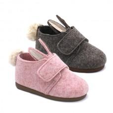 House boots rabbit Tokolate 1156-16