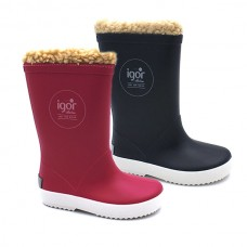 Rain boots Igor Splash sheepskin