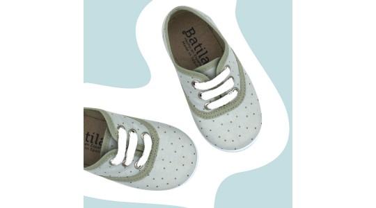zapatillas niña tipo converse blanco