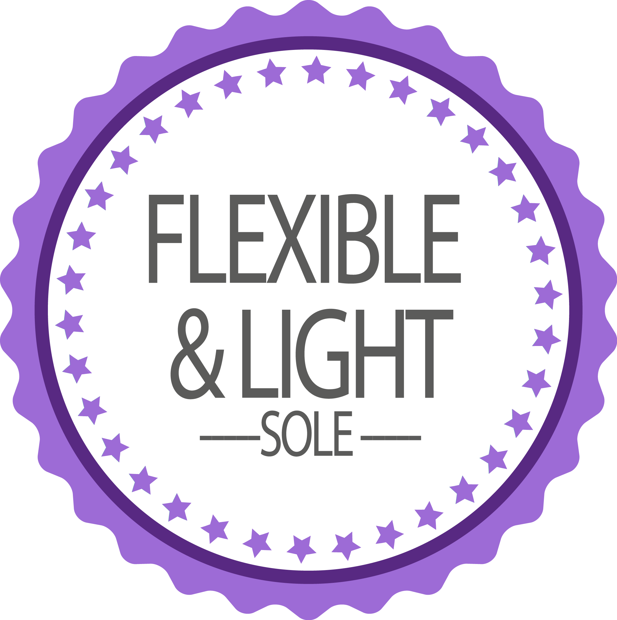 Flexible and light sole